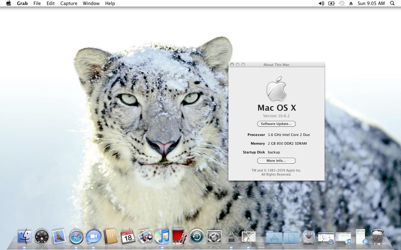 snow leopard 10.6.3